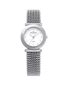 Skagen Silver Stretch Mesh Watch