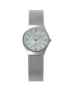 Skagen Shiny Silver on Mesh