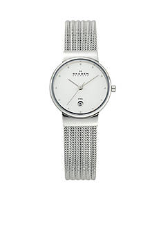 Skagen Patterned Mesh with Function Watch