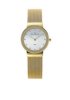 Skagen Women's Gold-Tone Mesh Watch