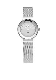 Skagen Silver-Tone Stainless Steel Watch