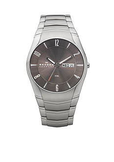 Skagen Men's Link Day and Date Watch