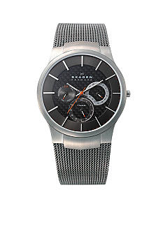Skagen Titanium Multifunction with Grey Band Watch