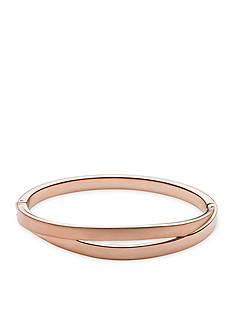 Skagen Rose Gold-Tone Elin Bangle Bracelet
