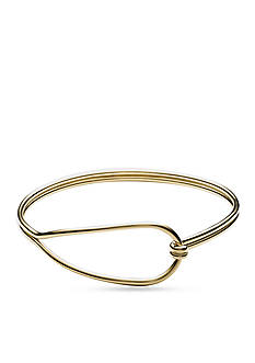 Skagen Anette Gold-Tone Bangle Bracelet