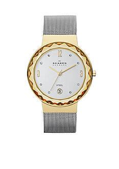 Skagen Women's Two-Tone Mesh Watch