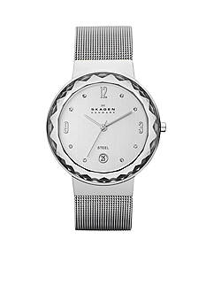 Skagen Women's Silver-Tone Mesh Watch