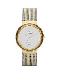 Skagen Women's Leonora Two-Tone Three Hand Watch