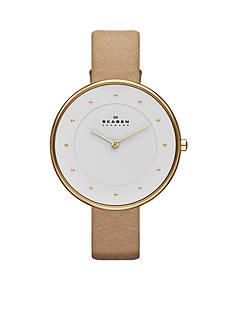 Skagen Women's Sand Leather Watch