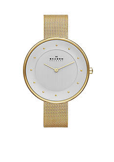 Skagen Women's Gold Mesh Watch