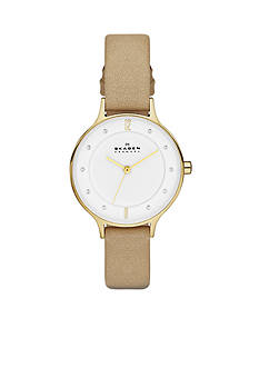 Skagen Women's Sand Gold Tone Watch