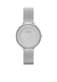 Skagen Women's Ditte Silver Mesh Watch