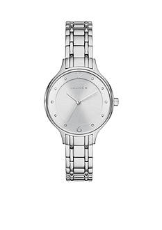 Skagen Ladies Anita Silver-Tone Link Watch