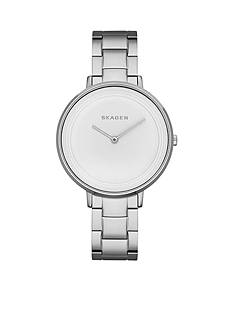 Skagen Ditte Silver-Tone Link Watch