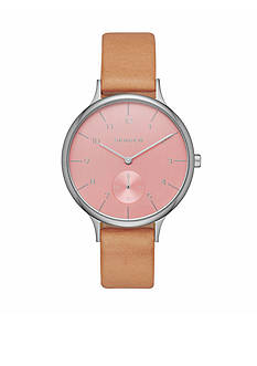 Skagen Women's Anita Pink Dial Watch