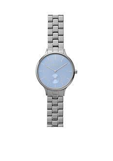 Skagen Ladies Anita Bracelet with Blue Dial Watch