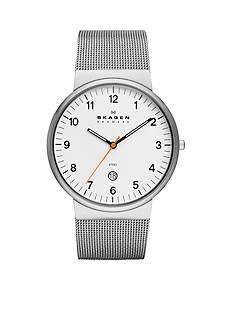 Skagen Men's Silver Mesh Watch