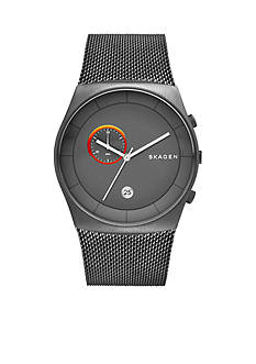 Skagen Havene Grey IP Chronograph Watch