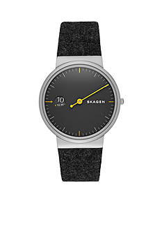Skagen Men's Ancher Mono Felt Strap Watch