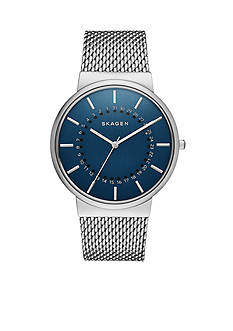 Skagen Men's Ancher Date Dial Stainless Steel Watch