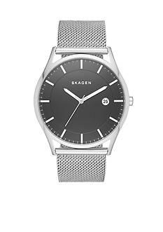 Skagen Men's Stainless Steel Holst Mesh Three-Hand Watch