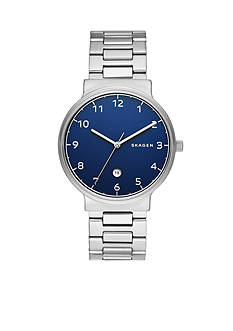 Skagen Men's Ancher Stainless Steel Link Watch
