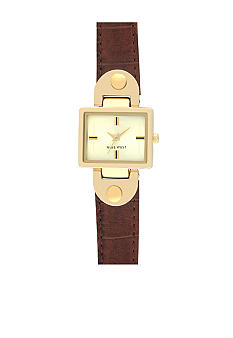 Nine West Rectangular Analog Watch