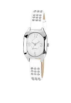 Nine West Metal Studded Strap Watch