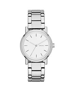 DKNY Stainless Steel SOHO Three-Hand Watch