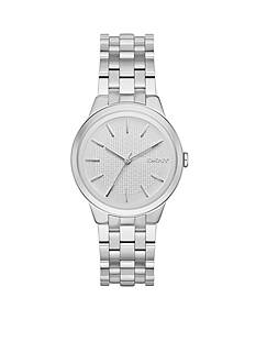 DKNY Women's Park Slope Stainless Steel 3-Hand Watch
