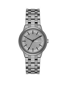 DKNY Women's Parkslope Gunmetal-Tone Stainless Steel 3-Hand Watch