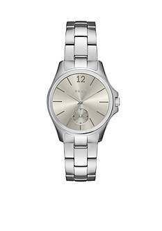 DKNY Women's Eldridge Silver-Tone Three-Hand Watch