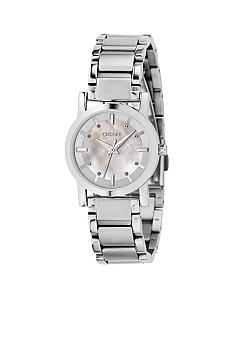DKNY Ladies Stainless Steel Dress Watch