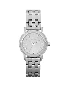 DKNY Silver Tone Sunray Dial Park Avenue Watch