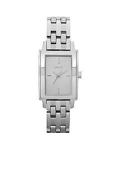 DKNY Ladies Stainless Steel Rectangular Bracelet Watch