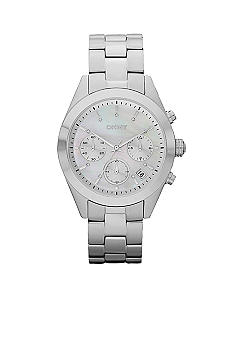 DKNY Ladies Glitz Chronograph Stainless Steel Bracelet