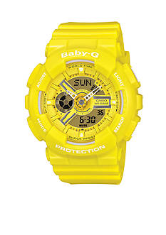 G-Shock Yellow XL Case Ana-Digi Baby-G Watch