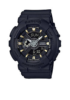 Baby-G Women's Black BA110 Watch
