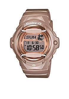 Champagne Baby-G Watch