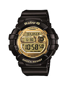 G-Shock Black with Gold face 3D Protector Baby-G