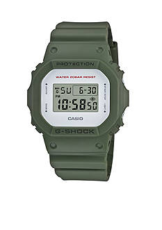 G-Shock Men's Green Digital Watch