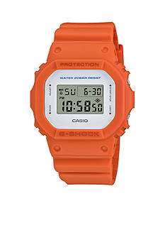 G-Shock Men's Orange Digital Watch
