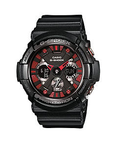 G-Shock Black XL Ana-Digi G-Shock with Red Accent Face Watch