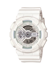 Men's White Out G-Shock Watch