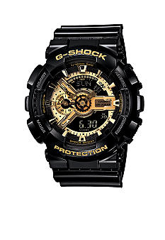 G-Shock G-Shock XL Combination Black and Gold Watch