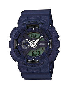 G-Shock Men's Blue Heathered XL Case Ana-Digi Watch