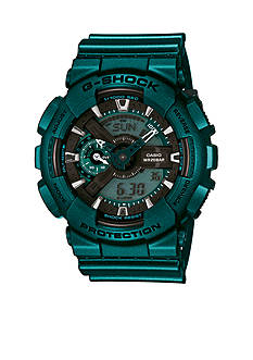 G-Shock Men's Teal Metallic XL Case Watch