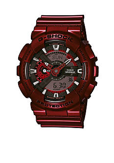 G-Shock Men's Red Metallic XL Case Watch
