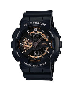 G-Shock Black and Rose Gold Ana-Digi G-Shock