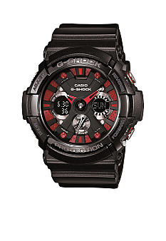 G-Shock Black with Red Accent XL Ana-Digi G-Shock